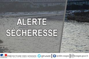 Alerte sécheresse : mesures de limitation des usages de l'eau sur tout le département
